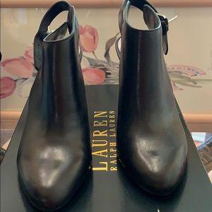 Ralph Lauren heeled boots